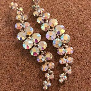 Vintage Sparkling Dangle Earrings